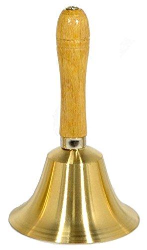 [해외]Moana Mahana (모아나마하나) 대박! 핸드벨 로토베루 악기 골드 | 추첨 추첨 멍에 당선 벨 지름 11cm/Moana Mahana (Moana Mahana) Jackpot! Hand Belt Rot Bell Instrument Gold | Lottery Drawing Fukushige Winning Bell Diameter 11 cm