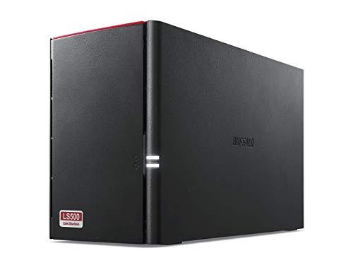 BUFFALO NAS スマホ/タブレット/PC対応 ネットワークHDD 8TB LS520D0802G 【同時アクセスでも快適な高速モデル】