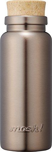 水筒 真空断熱 スクリュー式 マグ ボトル 0.36L コルク ブロンズ m...