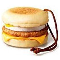 (ココ)COCO 雑貨 ソーセージ エッグ マフィン マクドナルド リアル ハンバーガー キー ホルダー