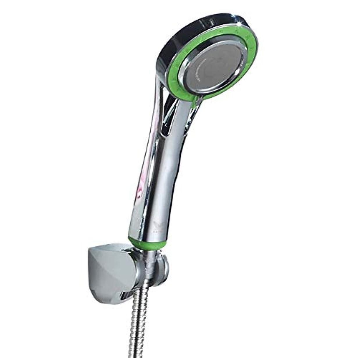 アイロニー母性恐れるシャワーヘッド、バスルームシャワーパイプ+シャワーホルダー調節可能+機能的手すりシャワーヘッドシャワーホース3シャワーモード