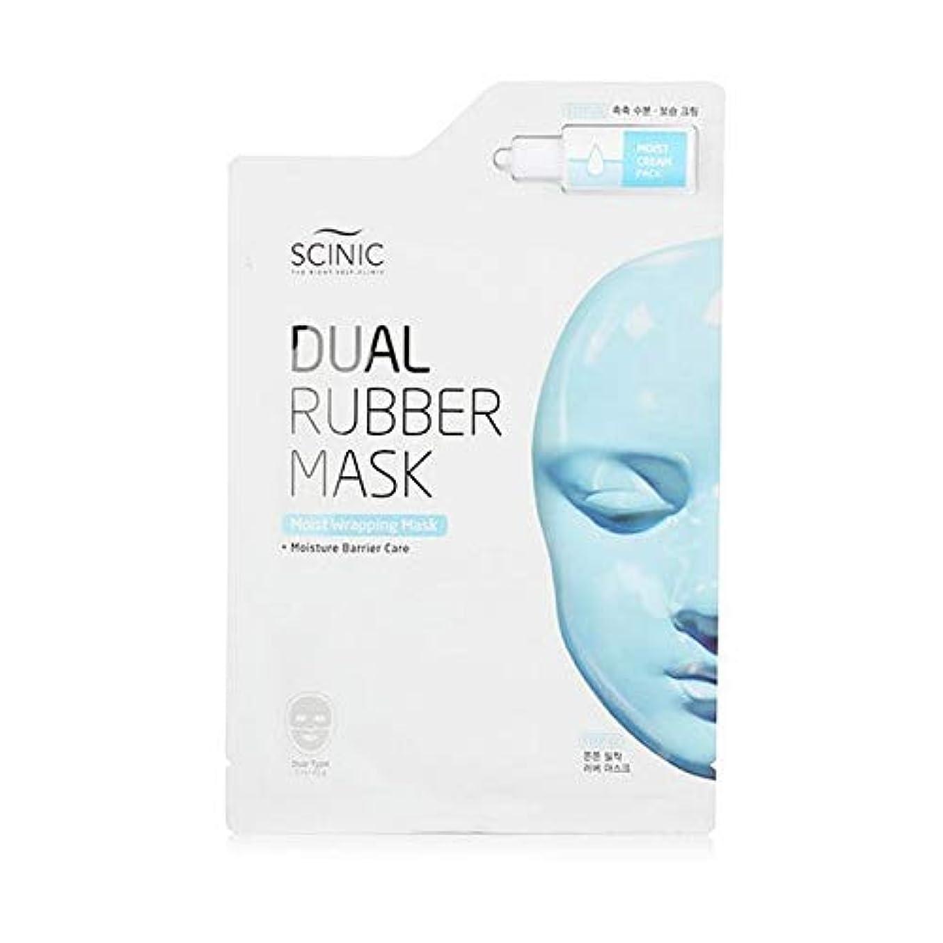 暖かさ自体蒸留[Scinic] Scinicデュアル水分ラッピングマスク - Scinic Dual Moisture Wrapping Mask [並行輸入品]