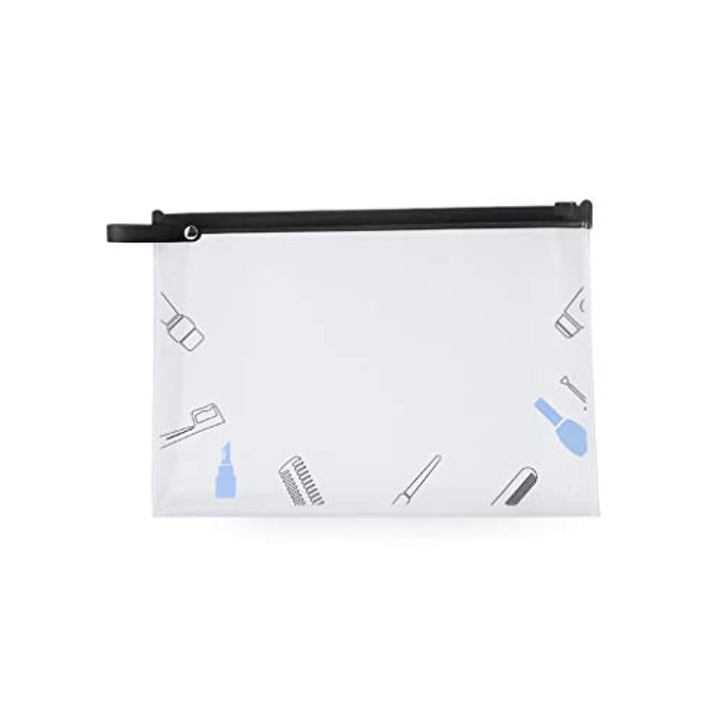 shunxinersty化粧品バッグトラベルメイクアップ化粧品バッグポータブルトイレタリーケース透明収納オーガナイザーウォッシュポーチ