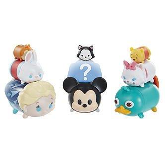 디즈니(Disney)  즈무츠무  TSUM TSUM 피규어 9 개팩 시리즈 1 (L 사 ,미키,페리,백토끼,마리,데이 루 ,피가로, 푸 ,미스테리 캐릭터) [병행수입품]