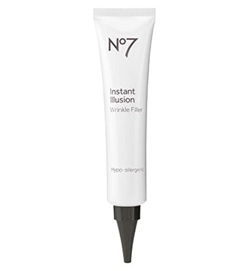 No7インスタント幻想リンクルフィラー30ミリリットル (No7) (x2) - No7 Instant Illusions Wrinkle Filler 30ml (Pack of 2) [並行輸入品]