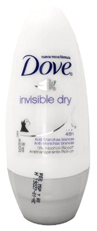 最適繰り返す解くDove Invisible Dry 48 Hs Anti-perspirant Roll-on Deodorant. 50 Ml by Dove [並行輸入品]