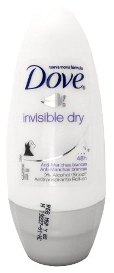 絶滅させる故意にバーストDove Invisible Dry 48 Hs Anti-perspirant Roll-on Deodorant. 50 Ml by Dove [並行輸入品]