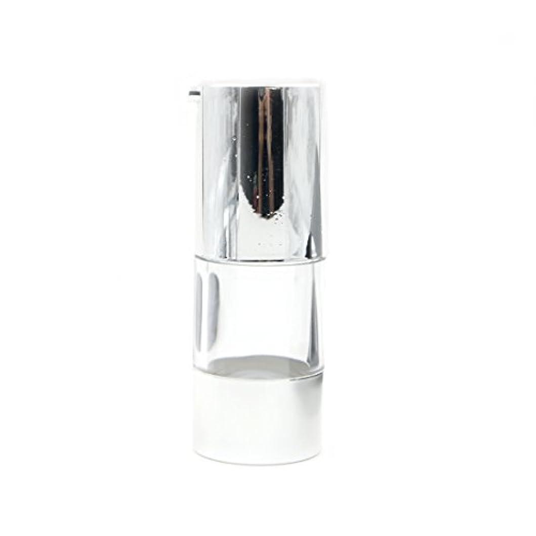 長方形間違えた買うAngelakerry エアレス 容器 ホワイト 15ml 手作りコスメ 手作り化粧品 詰め替え容器 10本セット [並行輸入品]