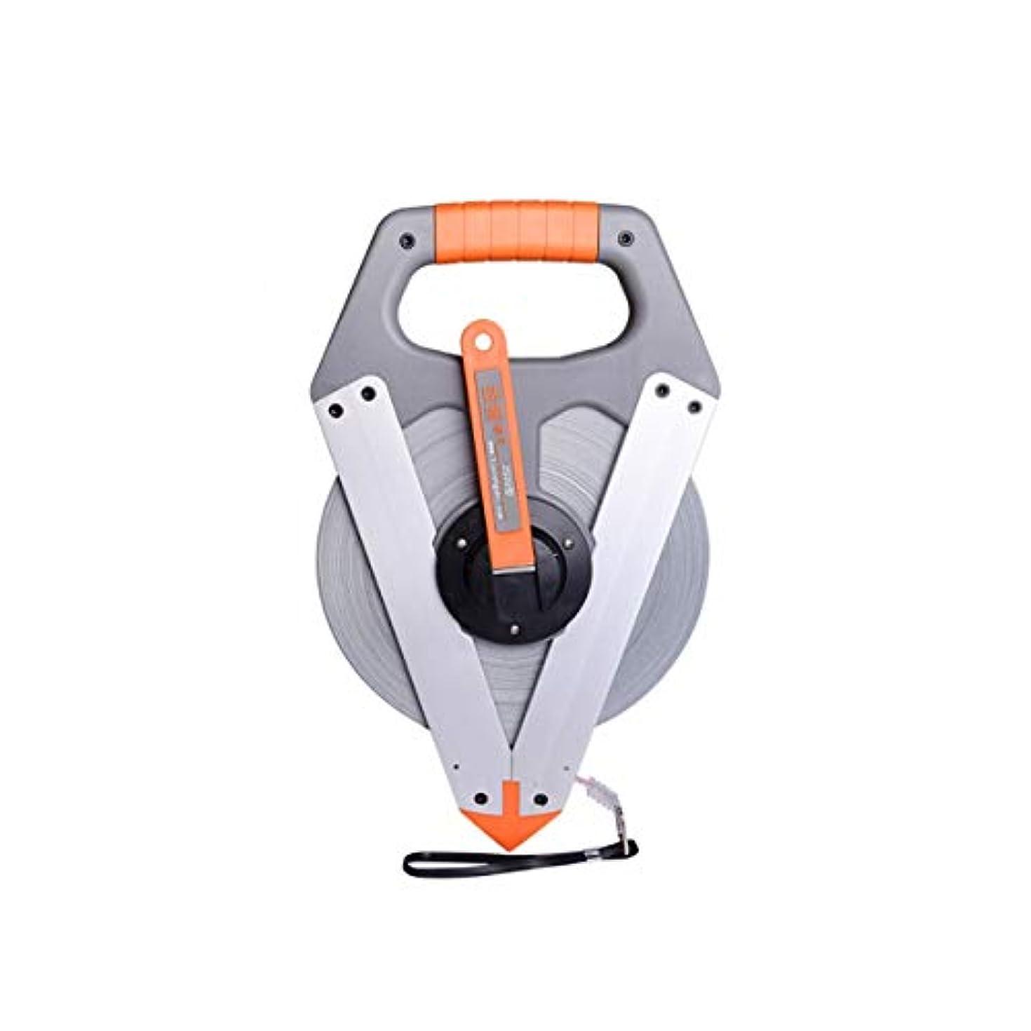 保険をかけるつなぐサーカスRCDD スチールテープメジャーナイロンコーティングスチールテープメジャー100メートル防水非錆テープメジャー3回振る速度定規大規律エンジニアリングスチールテープメジャーナイロンコーティングスチールテープメジャー100メートル (Size : 100m)