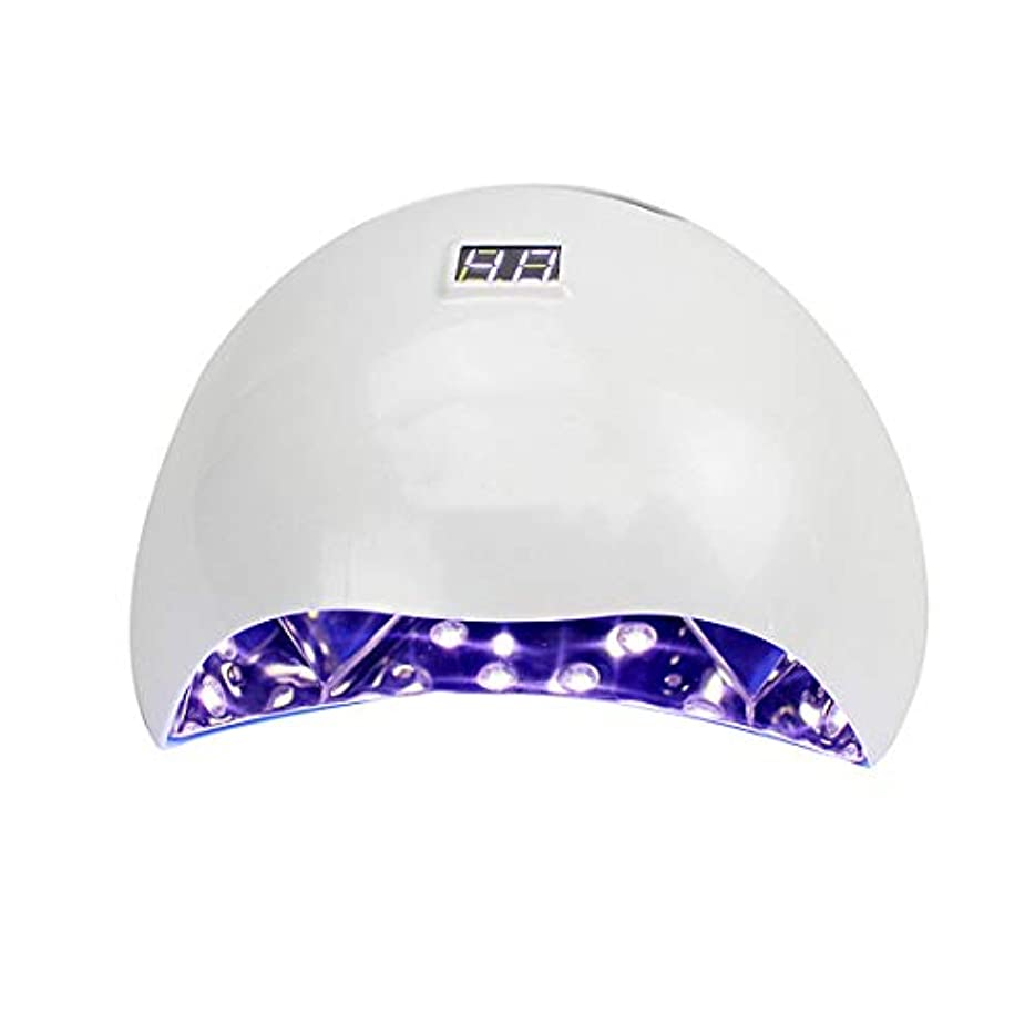 コーデリア本質的にその結果シェラックおよびゲルの釘のための専門の紫外線およびLEDの釘ランプそして釘のドライヤーの表示