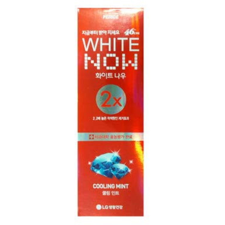 【LG生活健康】 PERIOE 46cm ホワイトナウ クーリングミント2x 100g [並行輸入品]