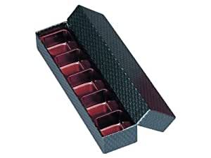 トリュフBOX 5仕切 黒 (5個)
