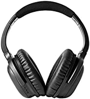 Audeara Bluetooth Wireless Headphones with Built-in Hearing Test & Active Noise Cancelling Audeara A-01 Headphones, Black, (