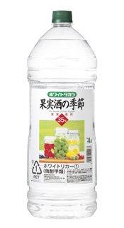 宝 果実酒の季節 ホワイトリカー ペット 35度 4L