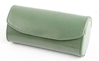 【Boosters】 ブースターズ メガネケース 眼鏡ケース 革 本革 ハード おしゃれ 大きいサイズ グリーン