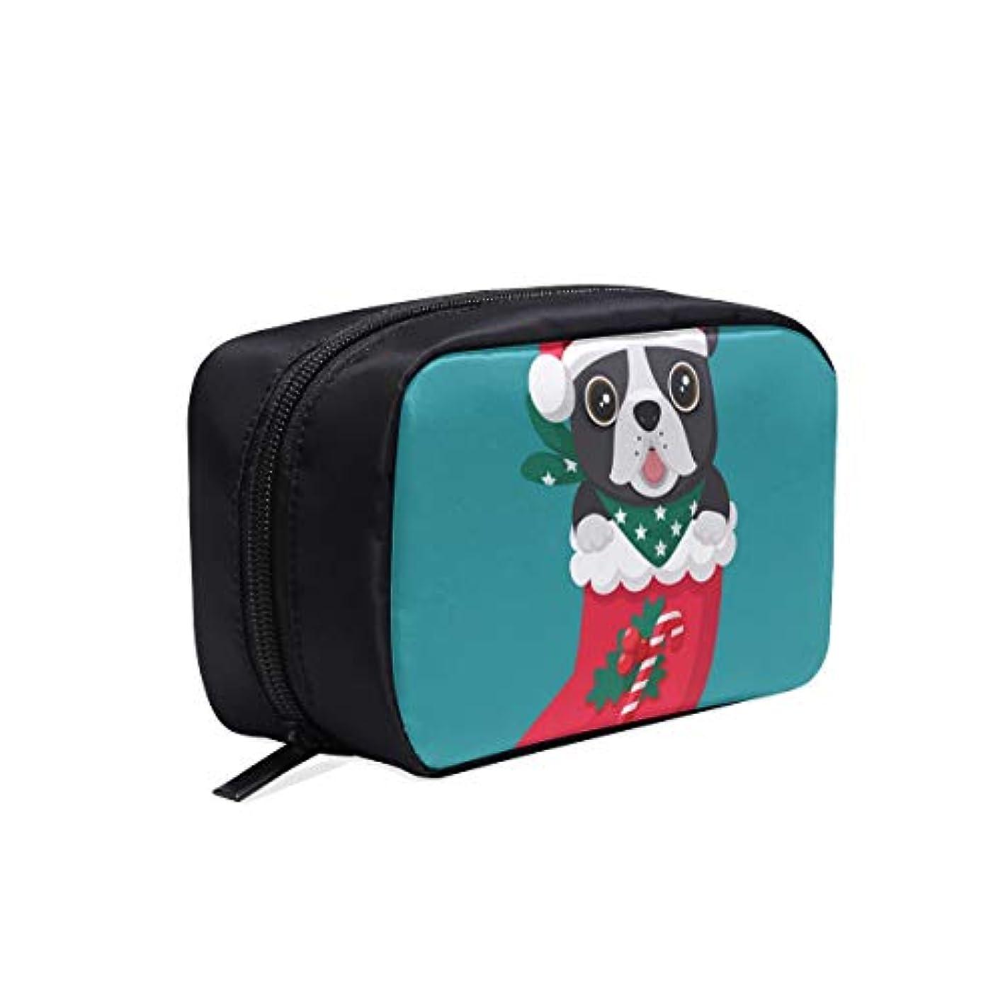 産地階衝突コースKWESG メイクポーチ ソックス 犬 ボックス コスメ収納 化粧品収納ケース 大容量 収納 化粧品入れ 化粧バッグ 旅行用 メイクブラシバッグ 化粧箱 持ち運び便利 プロ用