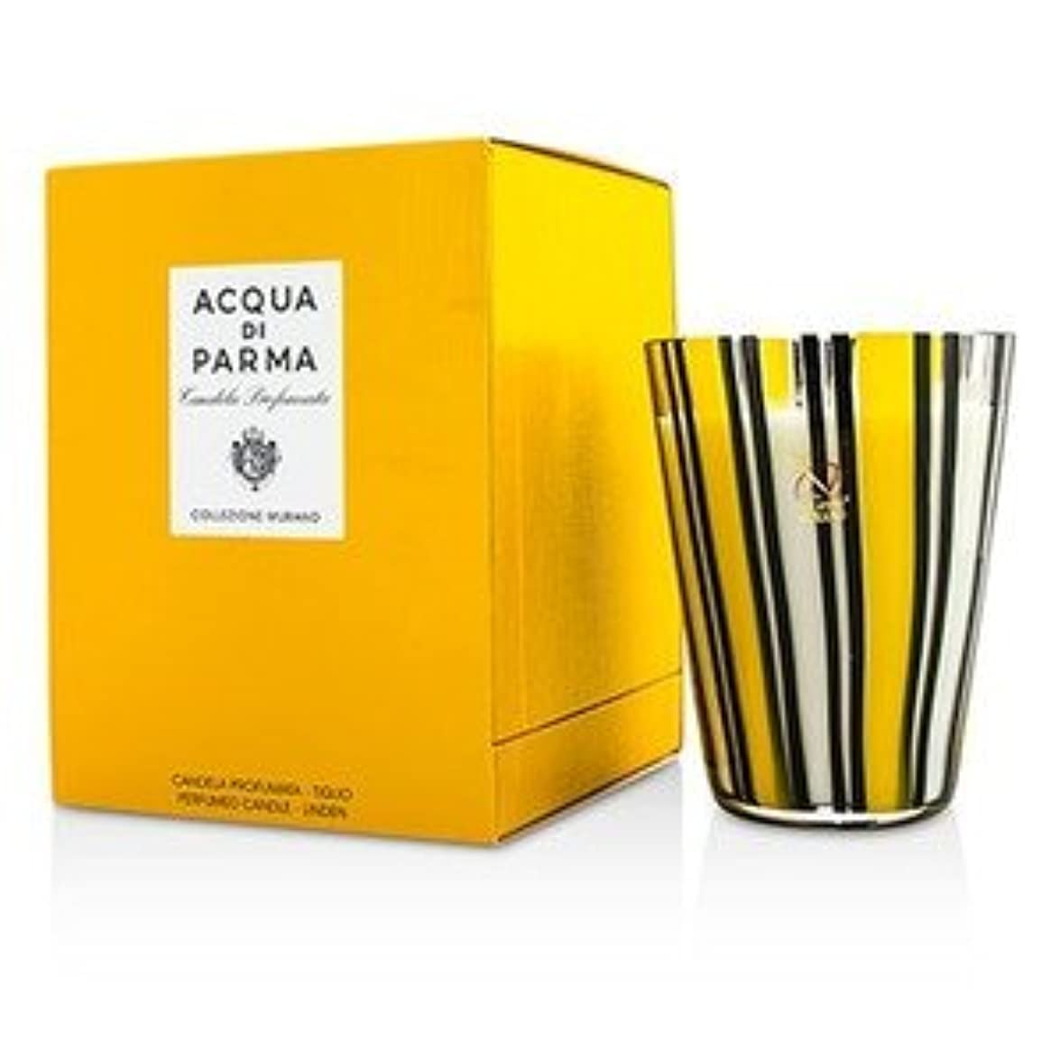 意義アート支配的アクア ディ パルマ[Acqua Di Parma] ムラノ グラス パフューム キャンドル - Tiglio(Linen) 200g/7.05oz [並行輸入品]