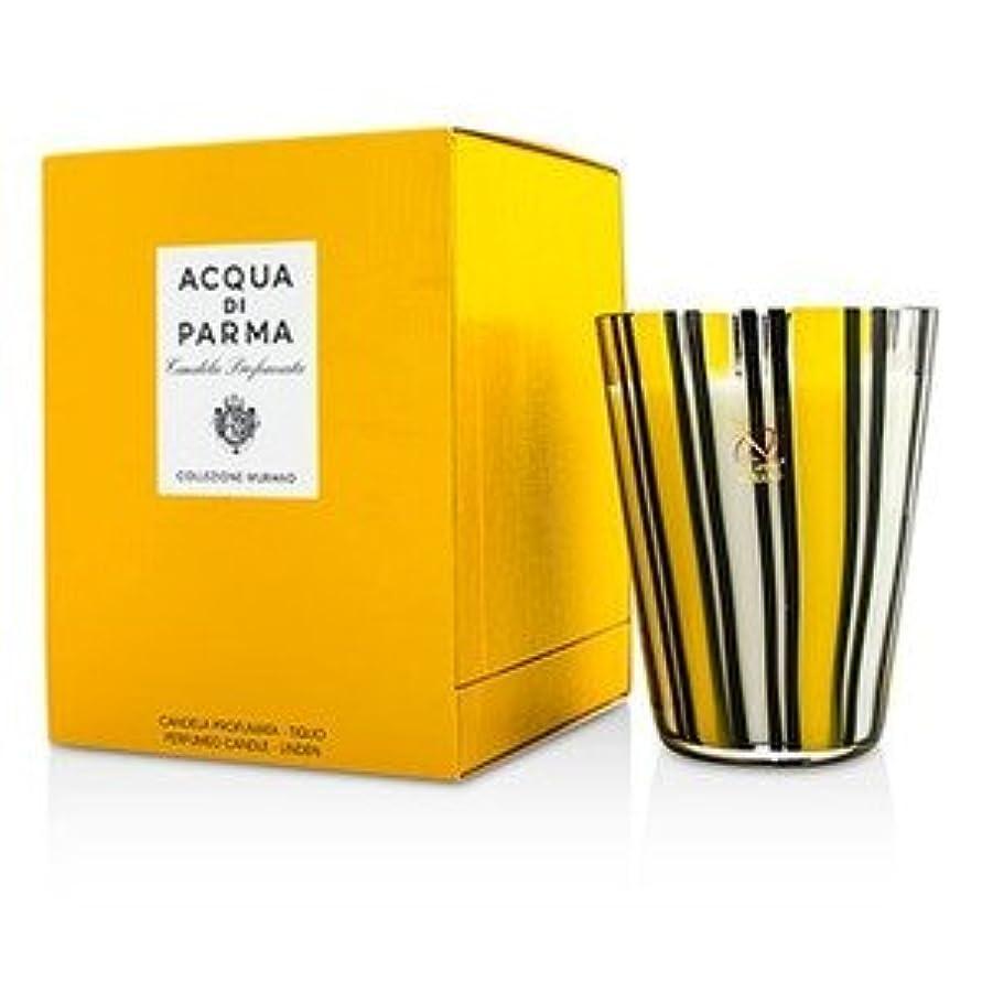 ステッチ荷物タイムリーなアクア ディ パルマ[Acqua Di Parma] ムラノ グラス パフューム キャンドル - Tiglio(Linen) 200g/7.05oz [並行輸入品]