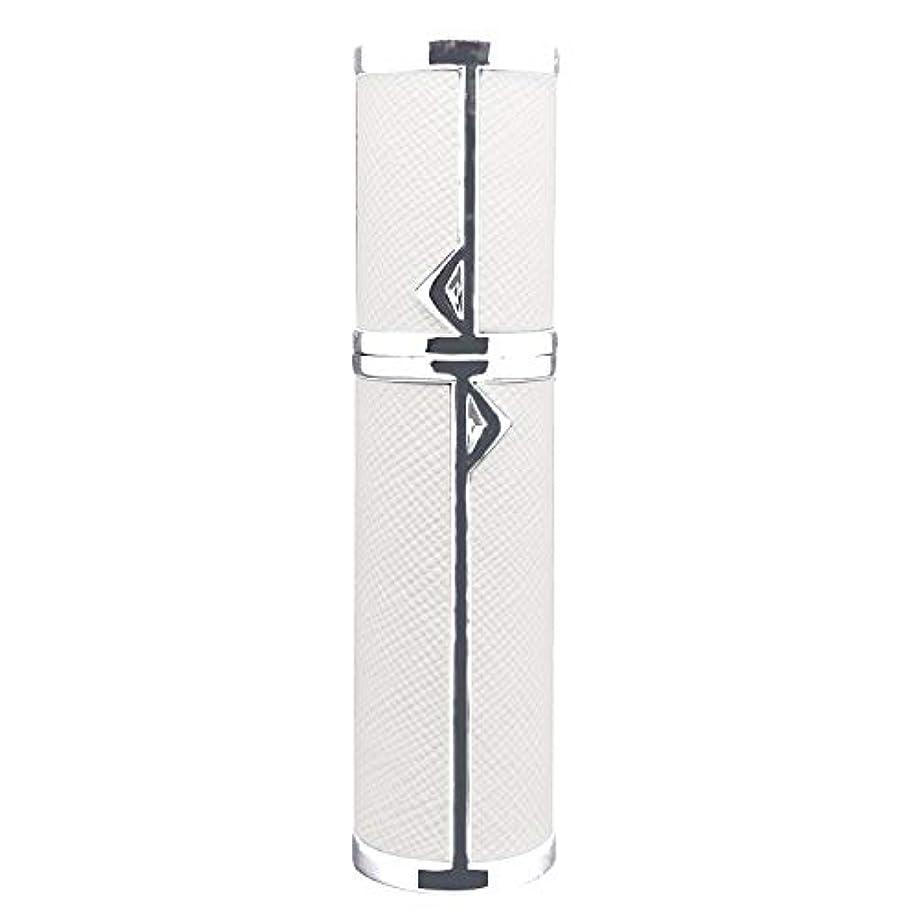 アトマイザー 詰め替え AsaNana ポータブル クイック 香水噴霧器 携帯用 詰め替え容器 香水用 ワンタッチ補充 香水スプレー パフューム Quick Atomizer プシュ式 (ホワイト White)