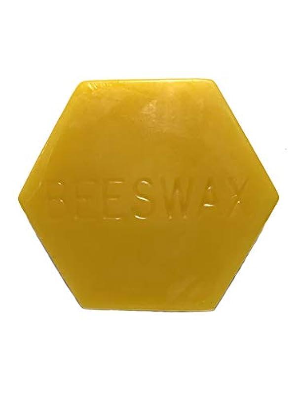まとめる有利高潔なやさしい蜂 純粋な蜜蝋、2オンス(56.7グラム) 弦ワックス、キャンドルワックス、DIYワックス