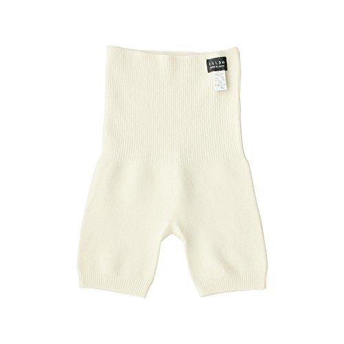 くらしきぬ はらぱん 内絹外ウール 腹巻パンツ【日本製】(オフホワイト)