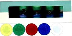 ポーカーチップ P-22 (20mmX100枚 5色)