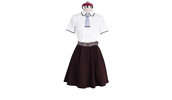 Anime Asobi Asobase Honda Hanako Olivia Nomura Kasumi Cosplay Costume Uniform