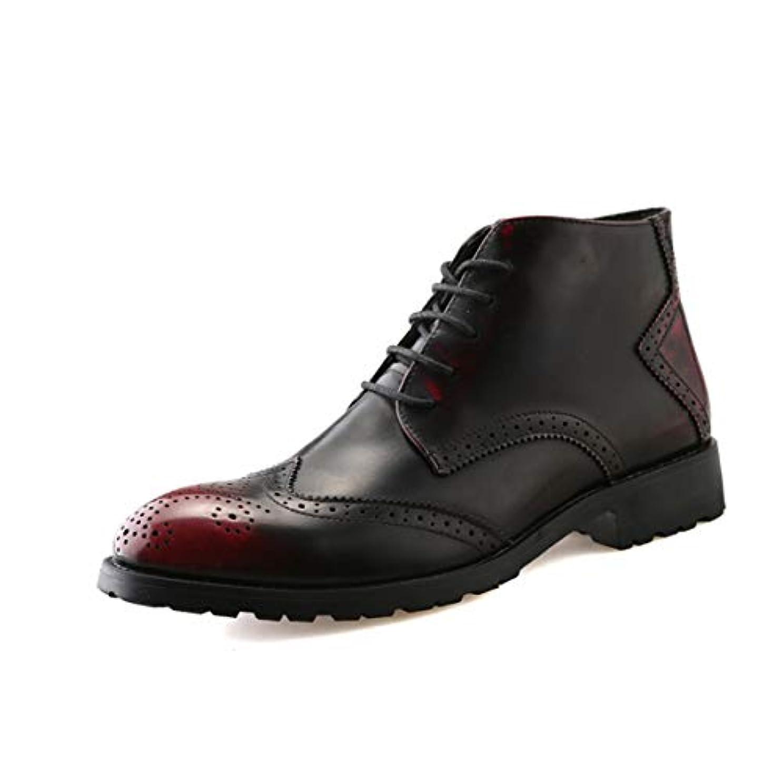 狂うセッション密度[Poly] メンズシューズ レザーシューズ ドレスシューズ レースアップ ビジネスシューズ カジュアル靴 紳士靴 ハイヒール ストレートチップ G-A86692