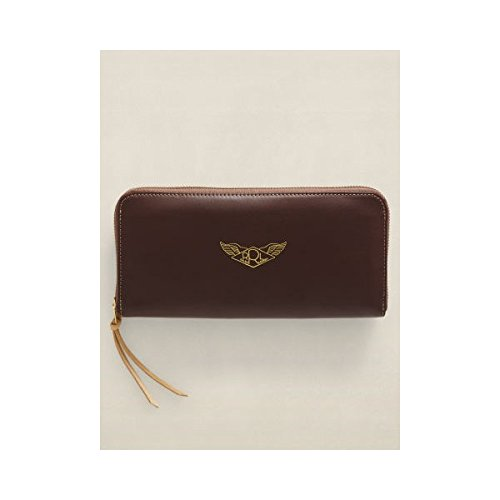 RRL ダブルアールエル A-2 Leather Travel Wallet [並行輸入品]