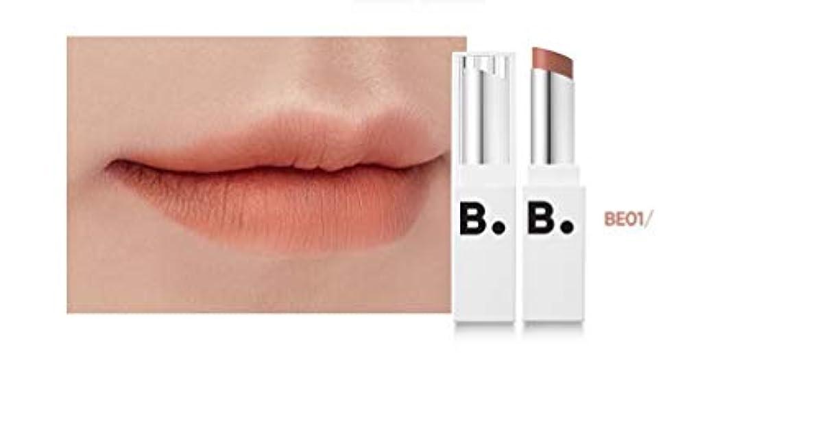 マディソン浴性交banilaco リップドローマットブラストリップスティック/Lip Draw Matte Blast Lipstick 4.2g #MBE01 modern beige [並行輸入品]