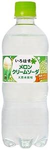 コカ・コーラ い・ろ・は・す メロンクリームソーダ ペットボトル 515ml×24本