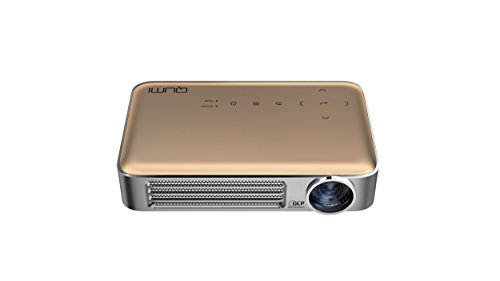 QUMI Q6-GDゴールド 超軽量475g 高輝度800ルー...