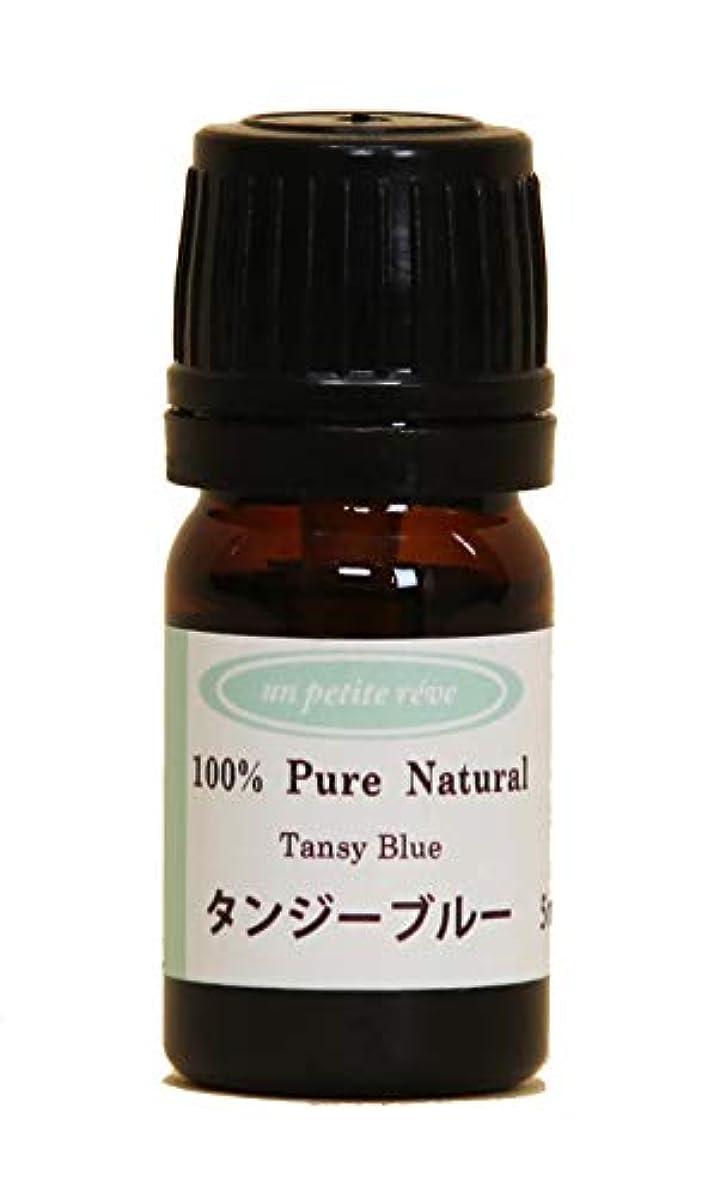 ミケランジェロ取り扱い豆腐タンジーブルー 5ml 100%天然アロマエッセンシャルオイル(精油)