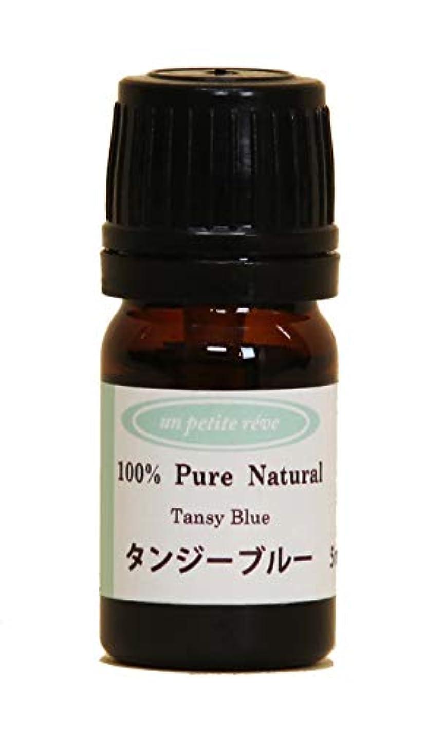 大きい吸収過去タンジーブルー 5ml 100%天然アロマエッセンシャルオイル(精油)