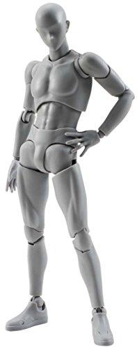 S.H. Figuarts Cuerpo-Kun DX conjunto Ver. Color gris sobre 150mm ABS & PVC-hecho AC Jp