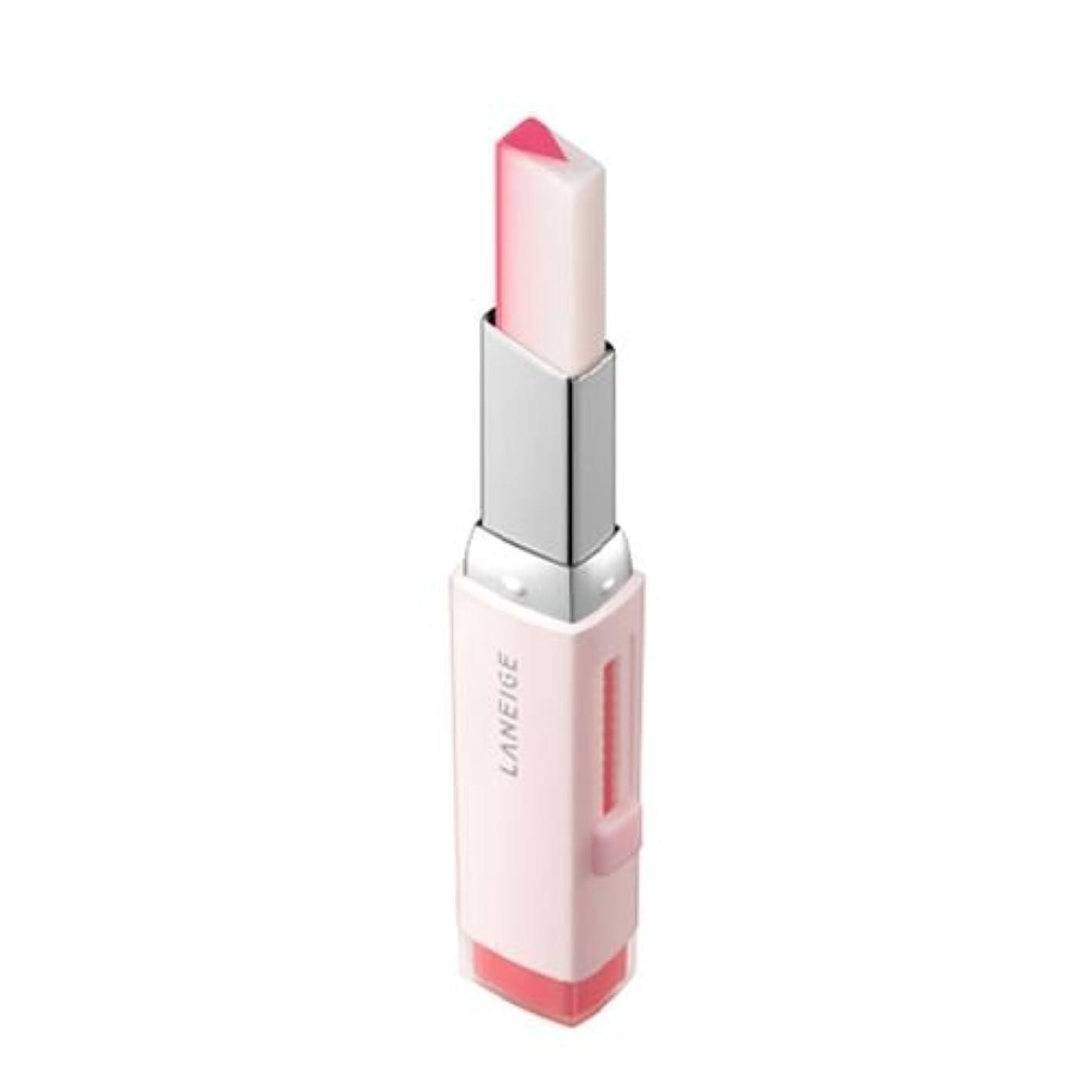 ビクター手足場所[New] LANEIGE Two Tone Tint Lip Bar 2g/ラネージュ ツー トーン ティント リップ バー 2g (#01 Cotton Candy) [並行輸入品]