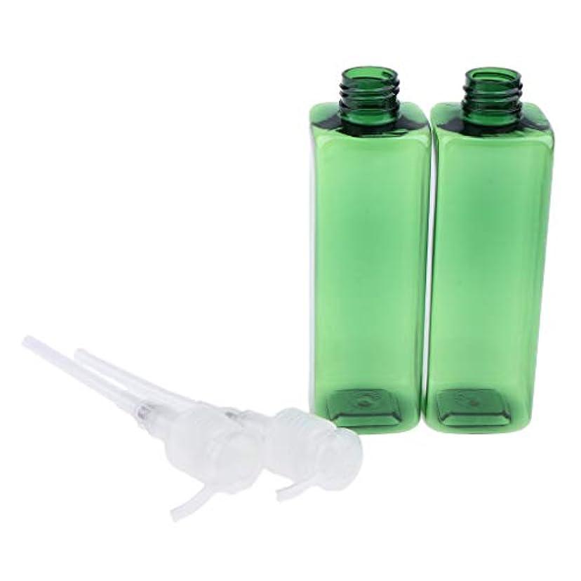 スラダムデコレーション伝記250ミリリットル ポンプボトル プラスチック 旅行 ローション 詰め替え可能な ボトル - クリア