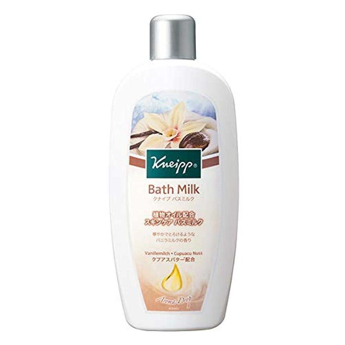 副端末ヒールクナイプ(Kneipp) クナイプ バスミルク バニラミルクの香り 480mL 入浴剤