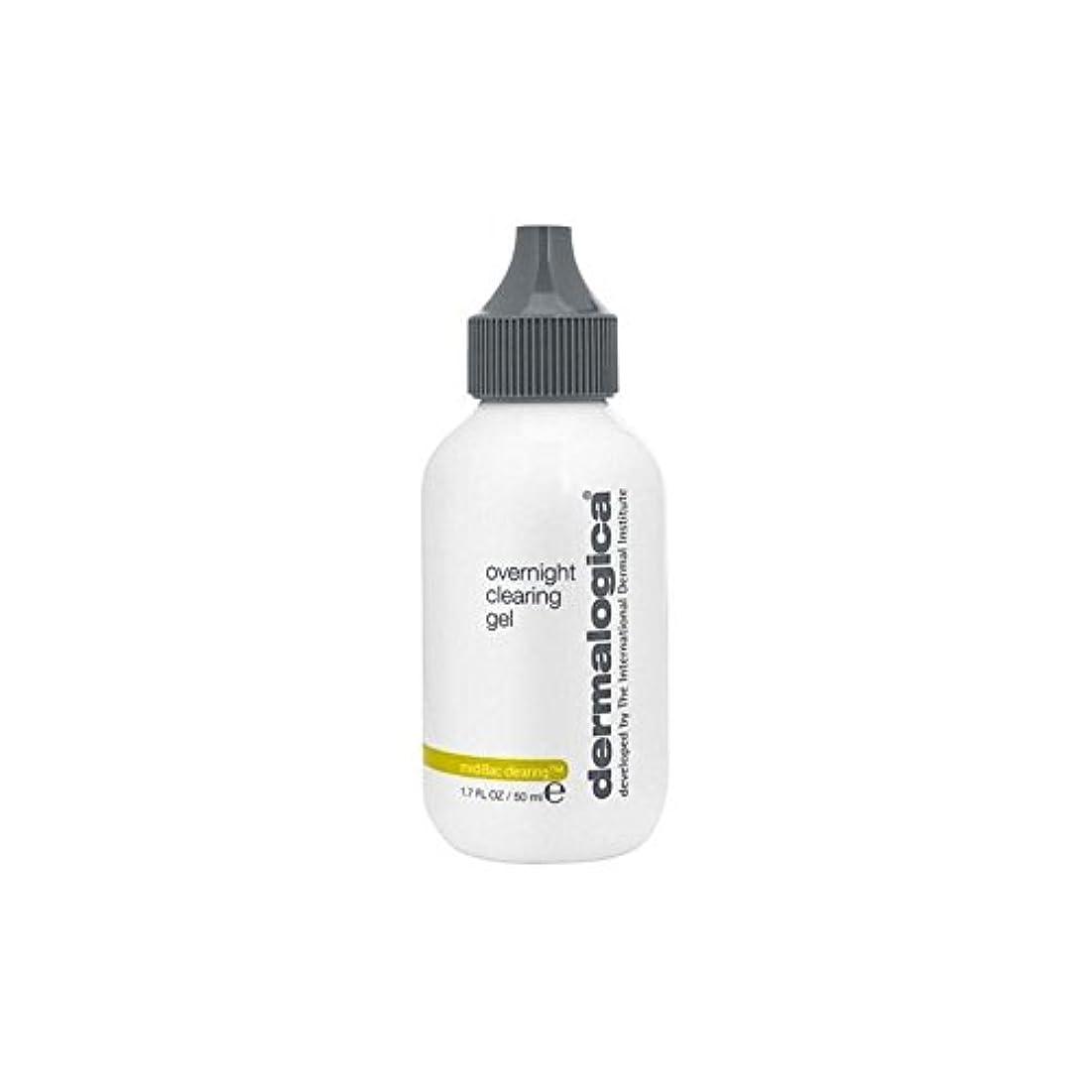 曇った輝度不調和ダーマロジカ一晩透明ゲル(50)中 x2 - Dermalogica Medibac Overnight Clearing Gel (50ml) (Pack of 2) [並行輸入品]