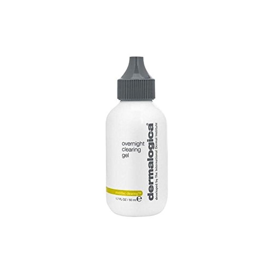 メイエラ口述する初期ダーマロジカ一晩透明ゲル(50)中 x4 - Dermalogica Medibac Overnight Clearing Gel (50ml) (Pack of 4) [並行輸入品]