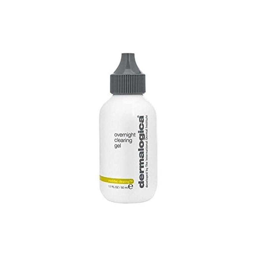 遊び場尾印象的なダーマロジカ一晩透明ゲル(50)中 x4 - Dermalogica Medibac Overnight Clearing Gel (50ml) (Pack of 4) [並行輸入品]