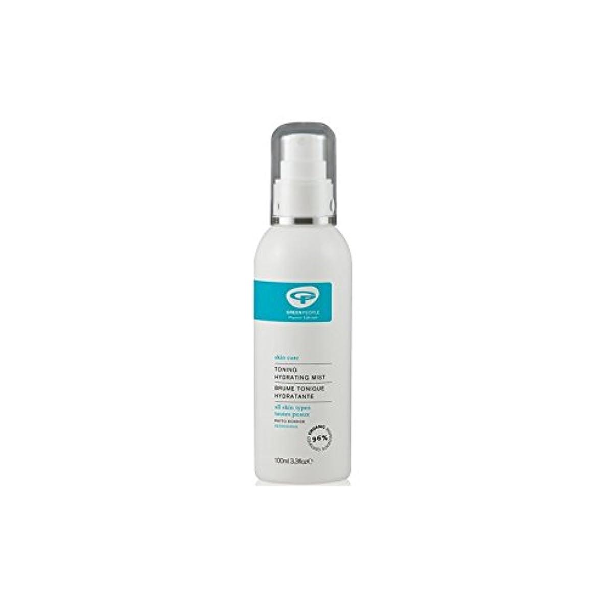 変装したアスレチックびっくりGreen People Toning Hydrating Mist (100ml) (Pack of 6) - 水和ミスト調色緑人(100ミリリットル) x6 [並行輸入品]