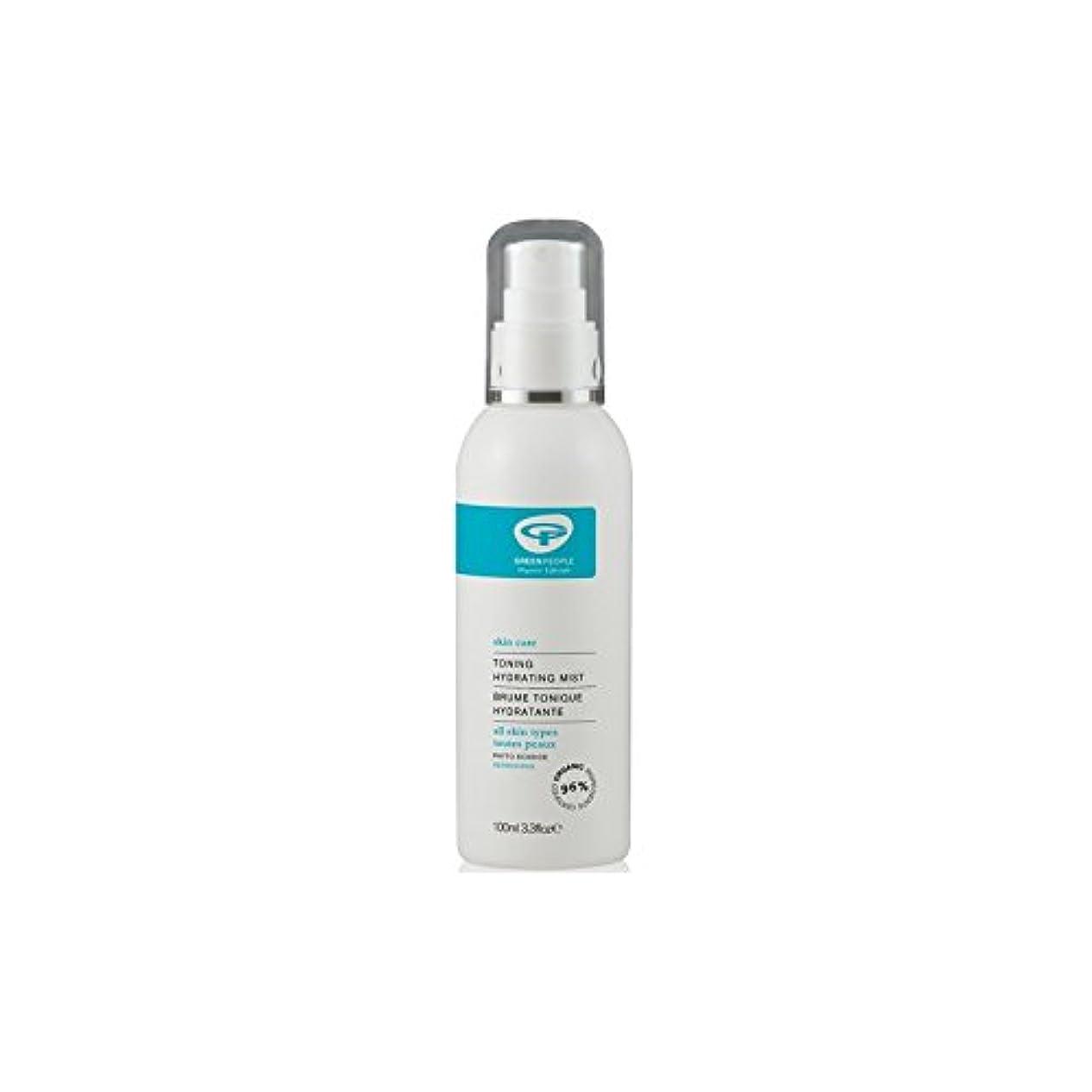 耐える抑圧する選ぶGreen People Toning Hydrating Mist (100ml) (Pack of 6) - 水和ミスト調色緑人(100ミリリットル) x6 [並行輸入品]