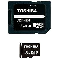 東芝電池 マイクロSDHCカード 8GBクラス10
