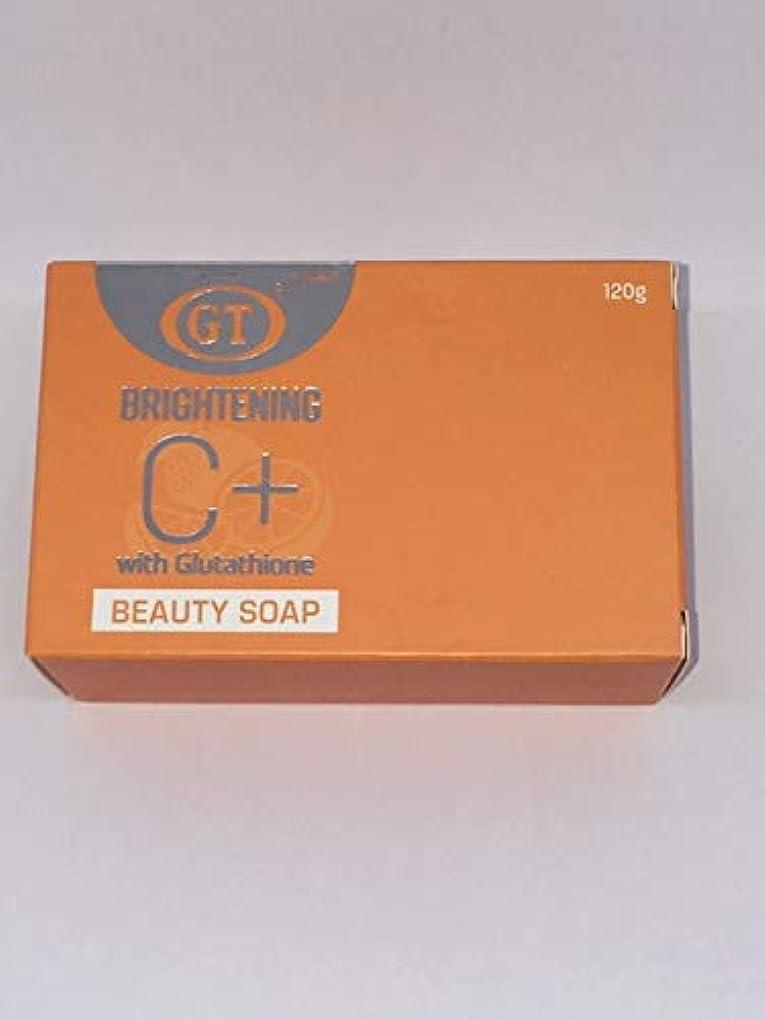 買い手騒乱熱帯のGT COSMETICS ビタミンC+グルタチオン配合ソープ 120g