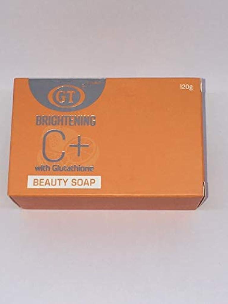 化学汚す日常的にGT COSMETICS ビタミンC+グルタチオン配合ソープ 120g