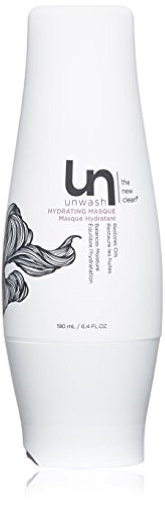 流暢政治的曲unwash Unwashハイド仮面ヘアトリートメント:プロフェッショナルディープコンディショニングクリーム水分補給マスク、 6.4オンス 白