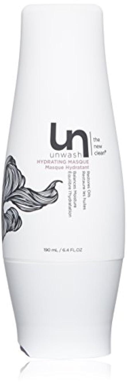 キモい香水精算unwash Unwashハイド仮面ヘアトリートメント:プロフェッショナルディープコンディショニングクリーム水分補給マスク、 6.4オンス 白