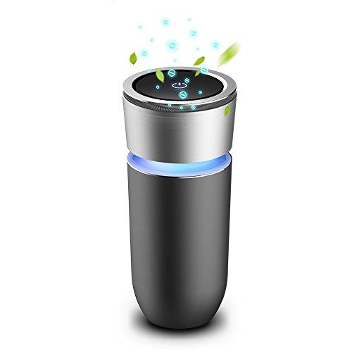 空気清浄器 車用 イオン発生機 脱臭機 エアクリーナー 花粉...