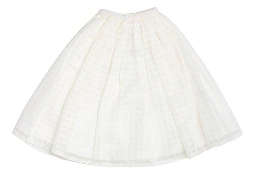50 シースルースカート ホワイト 48/50 cmボディ ...